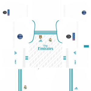 Real Madrid UCL Kits 2017/2018 Dream League Soccer
