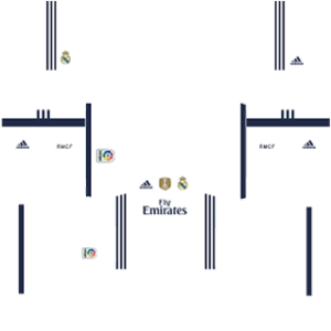 Real Madrid Special Kits 2016/2017 Dream League Soccer