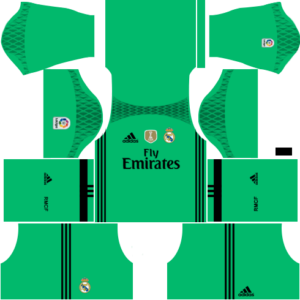 Real Madrid Goalkeeper Third Kit