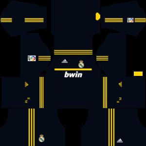 Real Madrid Goalkeeper Away Kit