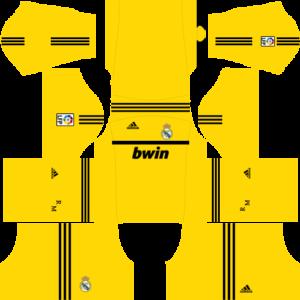 Real Madrid Goalkeeper Home Kit