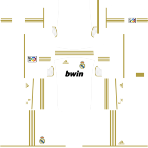 Real Madrid Kits 2011/2012 Dream League Soccer