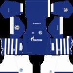 Schalke 04 UCL Kits 2018/2019 Dream League Soccer
