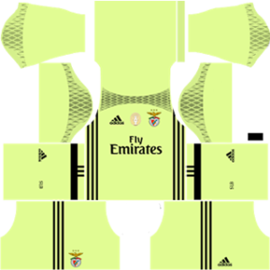 SL Benfica Goalkeeper Home Kit: