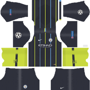 Manchester City Away Kit: