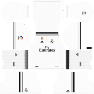 Real Madrid UEFA Winner Badge Kits 2018/2019 Dream League Soccer