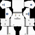 Real Madrid UEFA Badge Kits 2018/2019 Dream League Soccer