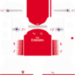 Arsenal Kits 2017/2018 Dream League Soccer