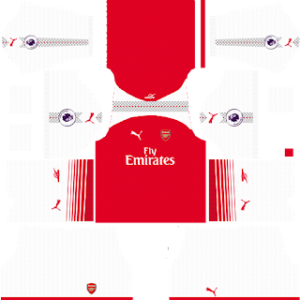 Arsenal Kits 2017/2018 Dream League Soccer