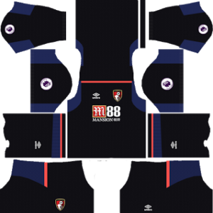 A.F.C. Bournemouth Goalkeeper Away Kit