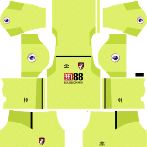 A.F.C. Bournemouth Goalkeeper Home Kit