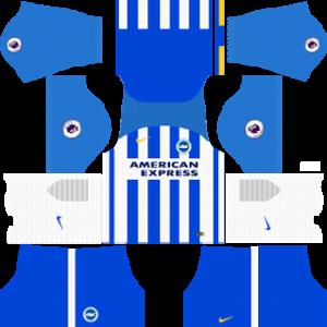 Brighton & Hove Albion Kits 2017/2018 Dream League Soccer