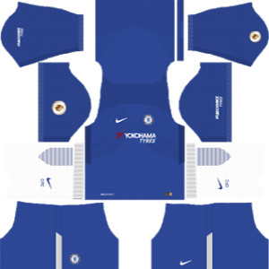 Chelsea kits 2017/2018 Dream League Soccer