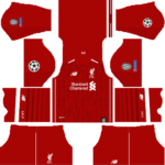 Liverpool UCL Kits 2018/2019 Dream League Soccer
