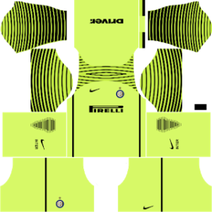 Inter Milan Goalkeeper Home Kit