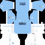 S.S. Lazio Kits 2017/2018 Dream League Soccer