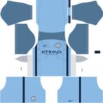 Manchester City Kits 2016/2017 Dream League Soccer