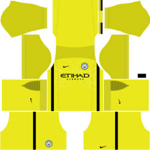 Manchester City Goalkeeper Home Kit: