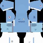 Manchester City Kits 2017/2018 Dream League Soccer