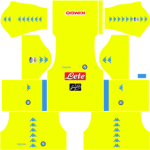 S.S.C Napoli Goalkeeper Away Kit: