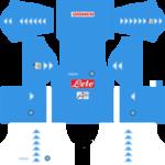 S.S.C Napoli Kits 2016/2017 Dream League Soccer