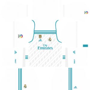 Real Madrid Kits 2017/2018 Dream League Soccer