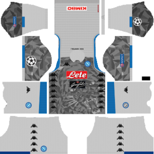 S.S.C Napoli Third Kit: