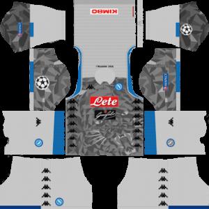 S.S.C Napoli Third Kit: