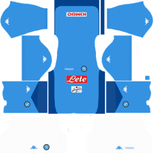 S.S.C Napoli Kits 2017/2018 Dream League Soccer