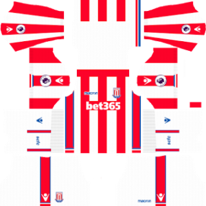 Stoke City FC Kits 2017/2018 Dream League Soccer