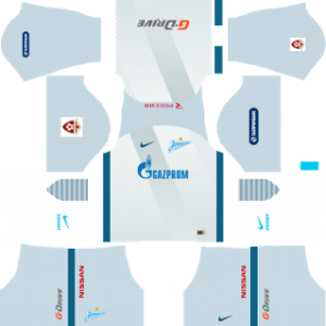 Zenit St Petersburg Away Kit: