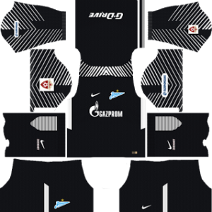 Zenit St Petersburg Goalkeeper Away Kit: