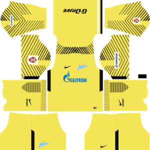 Zenit St Petersburg Goalkeeper Third Kit: