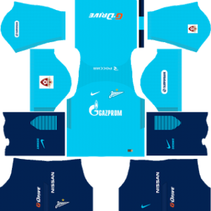Zenit St Petersburg Kits 2017/2018 Dream League Soccer