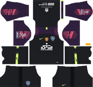 Al-Hilal FC Goalkeeper Home Kit