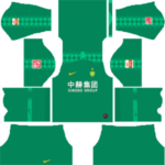 Beijing Sinobo Guoan F.C. Kits 2019/2020 Dream League Soccer