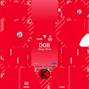 Daegu FC ACL Goalkeeper Home Kit
