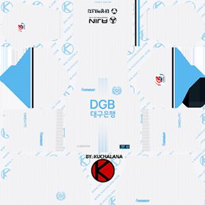 Daegu FC Away Kit