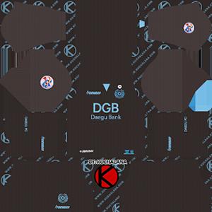 Daegu FC ACL Goalkeeper Away Kit