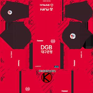 Daegu FC Goalkeeper Away Kit