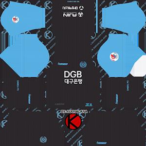 Daegu FC Goalkeeper Home Kit