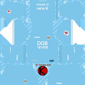 Daegu FC Kits 2019/2020 Dream League Soccer