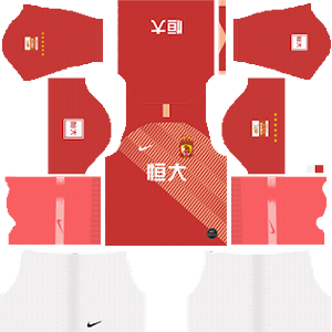 Guangzhou Evergrande Taobao FC ACL Home Kit