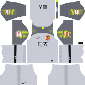 Guangzhou Evergrande Taobao F.C. Goalkeeper Home Kit