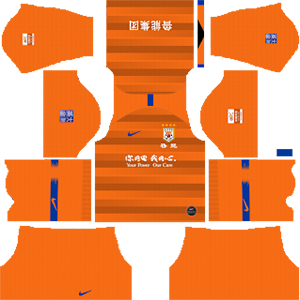 Shandong Luneng Taishan F.C. Kits 2019/2020 Dream League Soccer