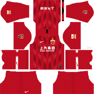 Shanghai SIPG F.C. Kits 2019/2020 Dream League Soccer