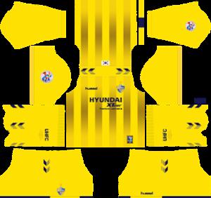 Ulsan Hyundai FC Goalkeeper Home ACL Kit