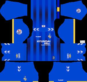 Ulsan Hyundai FC Home ACL Kit