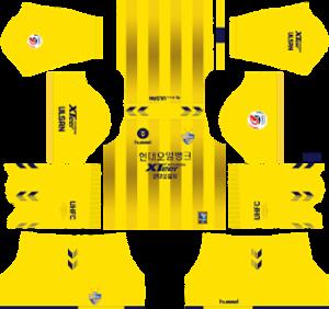 Ulsan Hyundai FC Goalkeeper Home Kit