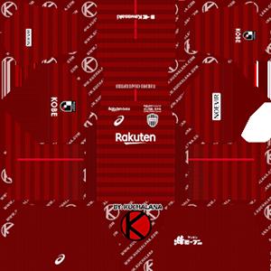Vissel Kobe Kits 2019/2020 Dream League Soccer
